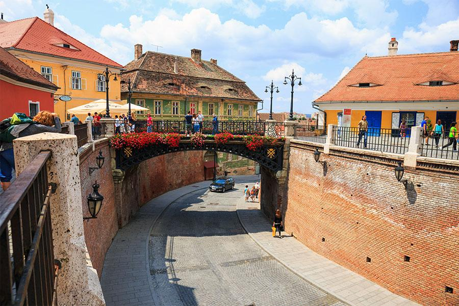 Puente de los Mentirosos, Sibiu. Atribución de crédito: Dziewul / Shutterstock.com