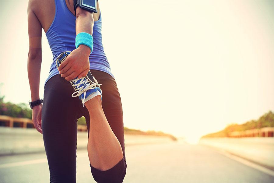 Estirar es fundamental antes de cada entrenamiento.