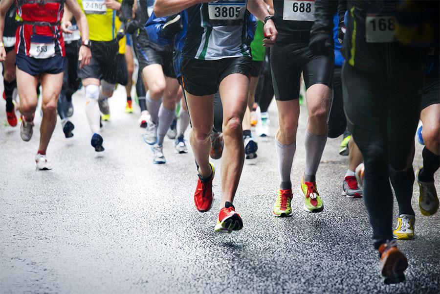 Cada corredor debe encontrar su ritmo de carrera.