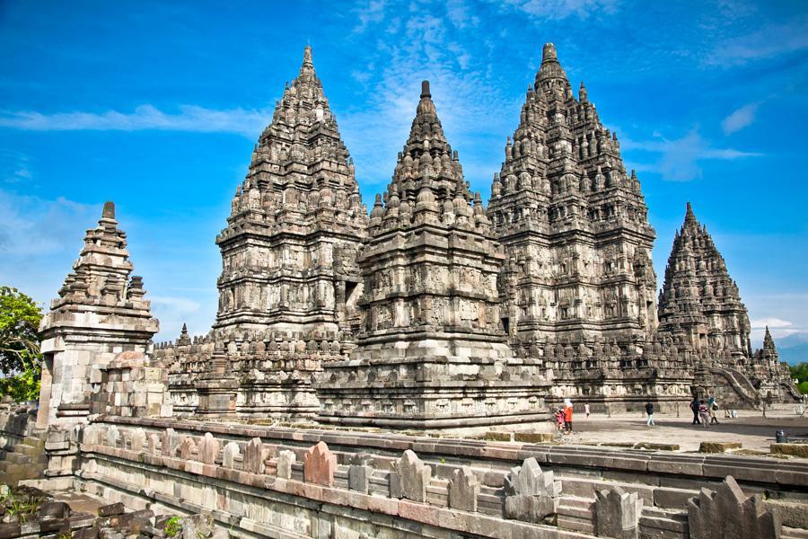 Templo Prambanan, Java, Indonesia