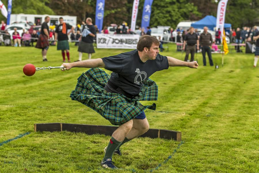 Gordon Castle Highland Games en Moray Foto: JASPERIMAGE / Shutterstock.com