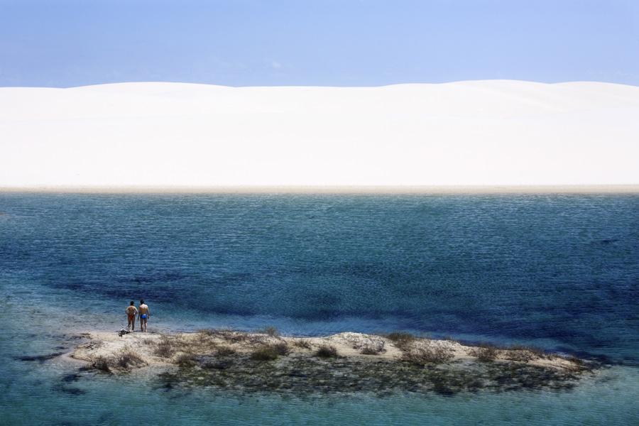 La Laguna Azul es conocida por su tamaño y aguas cristalinas