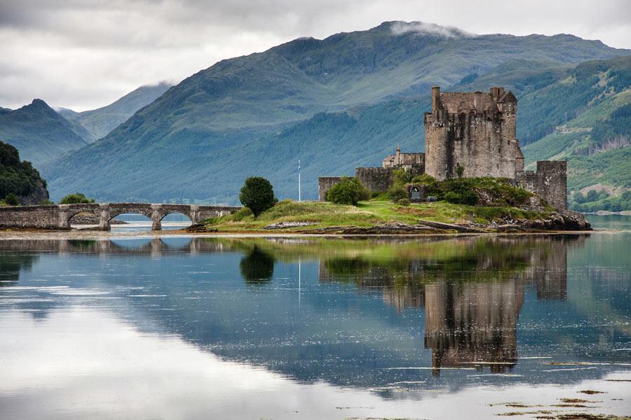 Castillo Eilean Donan, Highlands de Escocia
