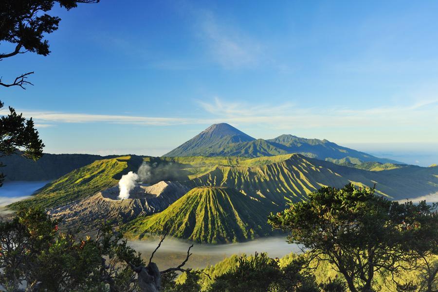 Monte Bromo, Java Orienta.