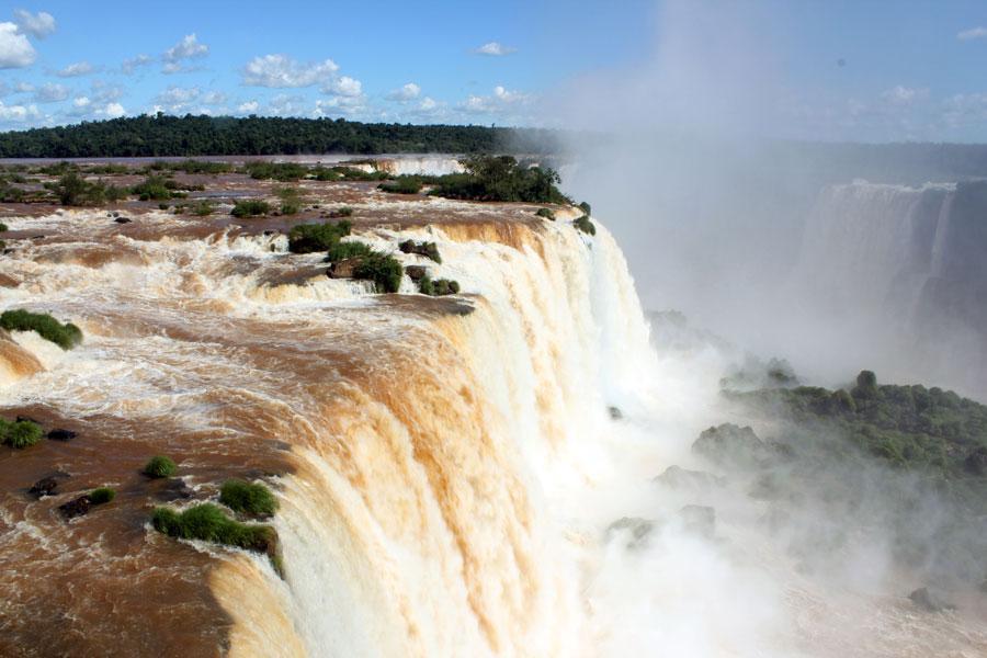 Cataratas de Iguazú. Foto: Jexa