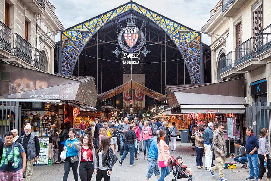 La Boquería. Foto: Kaesler Media / Shutterstock.com