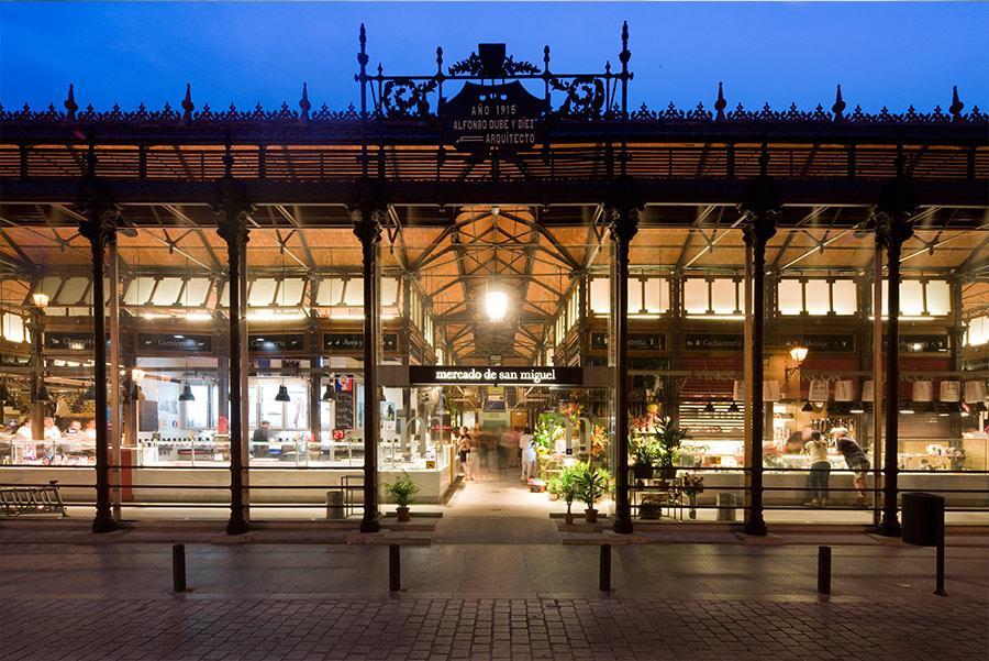 Fachada del Mercado de San Miguel, en Madrid Foto: ©Mercado de San Miguel