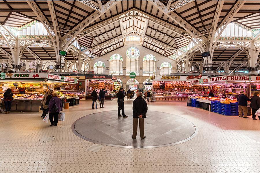 Mercado Central de Valencia. Foto: Christian Mueller / Shutterstock.com