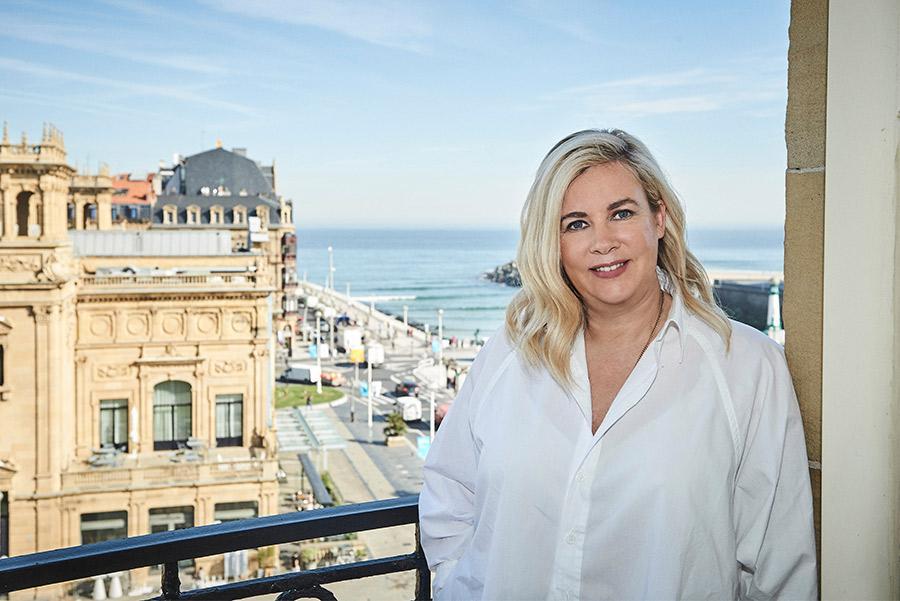 La chef Hélène Darroze.©jmbielsa