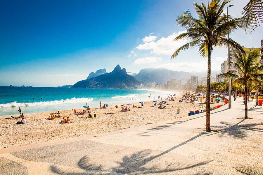La playa de Ipanema. A.RICARDO / Shutterstock.com