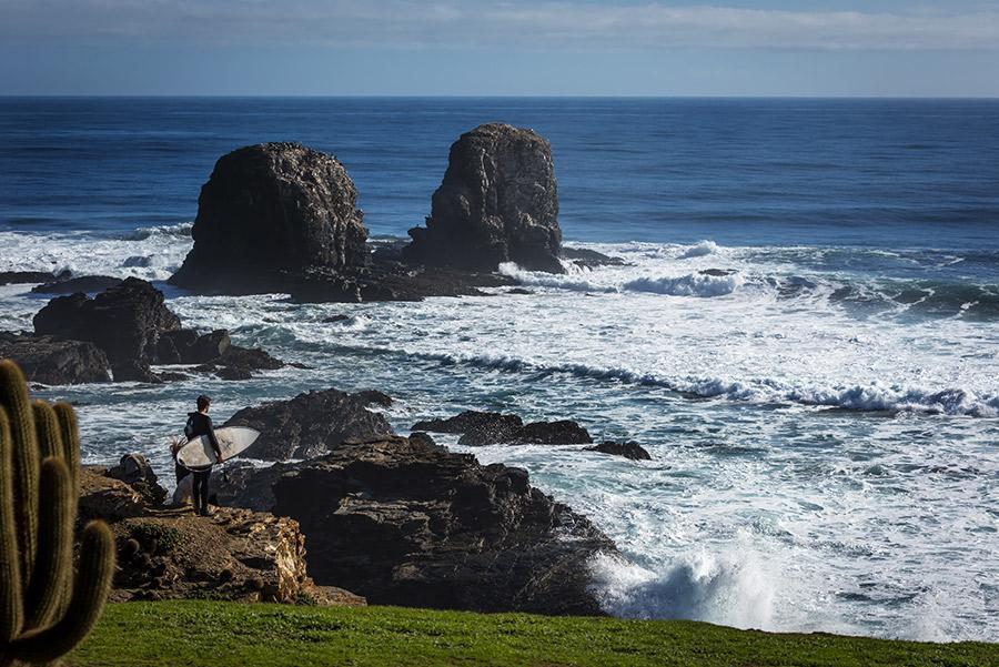 Surf en Pichelemu.
