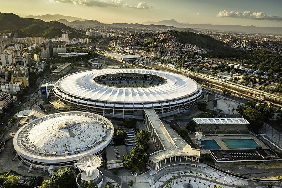 El estadio de Maracaná. marchello74/Shutterstock.com