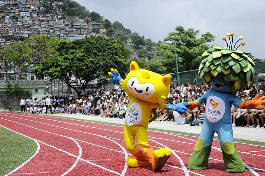 Mascotas de los Juegos. AGIF / Shutterstock.com