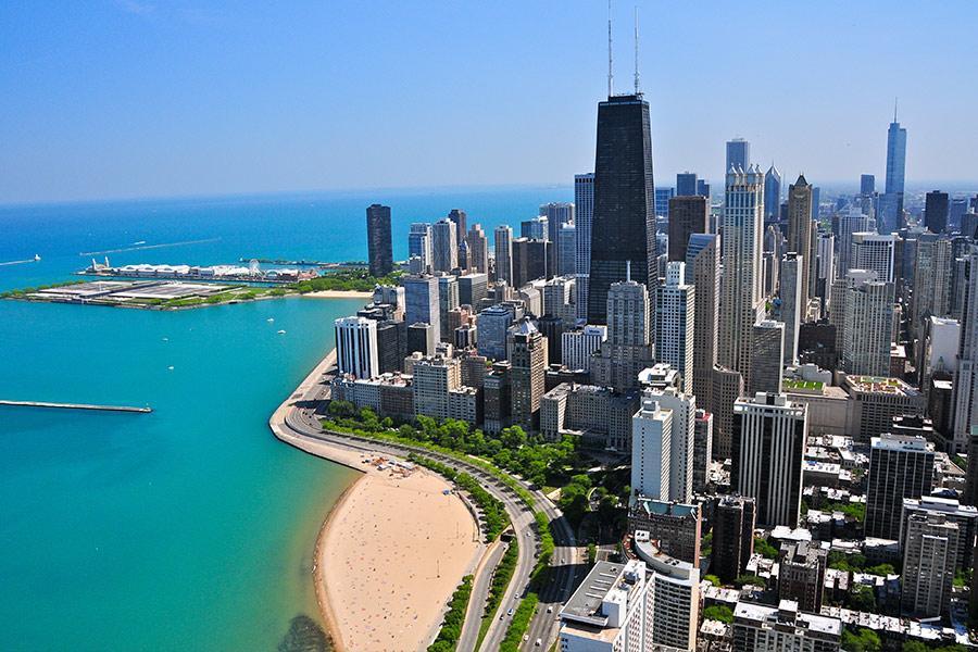 El John Hancock Center es uno de los edificios más altos de Chicago Foto:Richard Cavalleri / Shutterstock.com