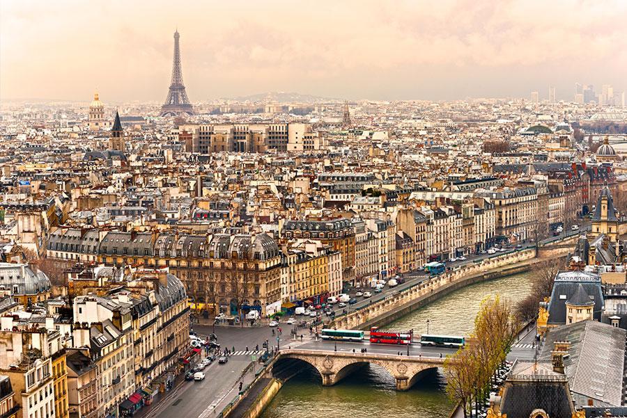 Vistas de París.