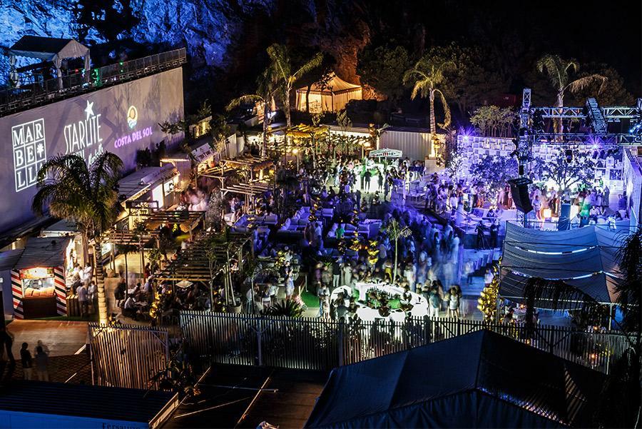 Lounge de Starlite en Marbella. ©Starlite