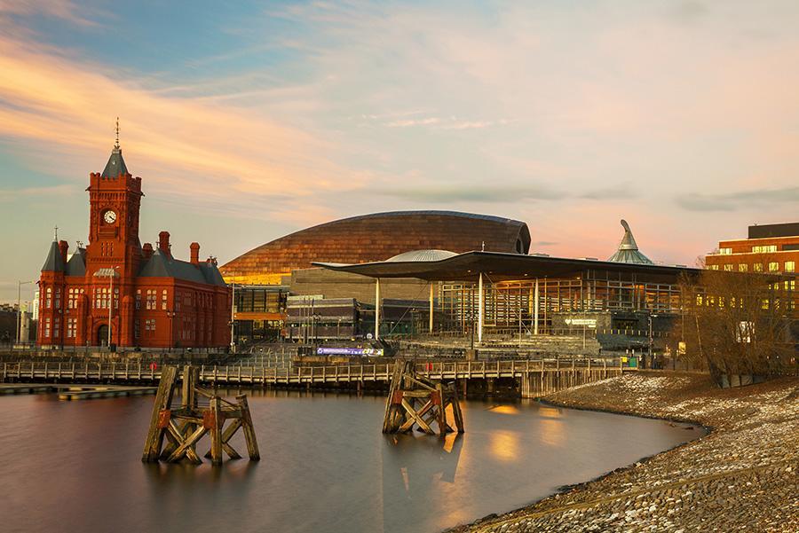Bahía de Cardiff, Gales Foto: ©VisitBritain