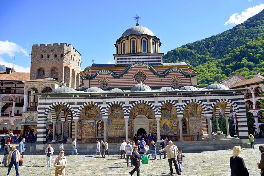 Monasterio de Rila. Foto: meunierd / Shutterstock.com
