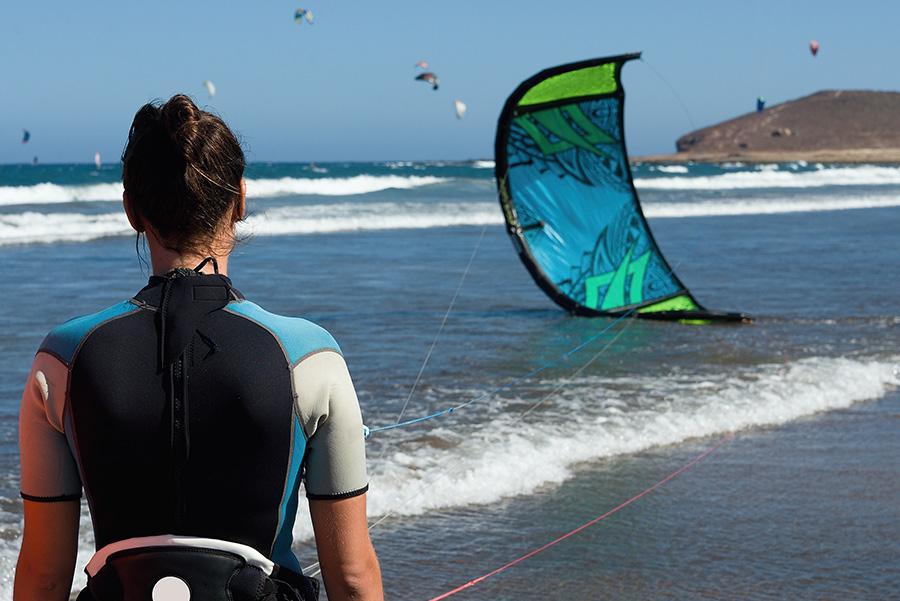 'Kitesurf' en Tenerife