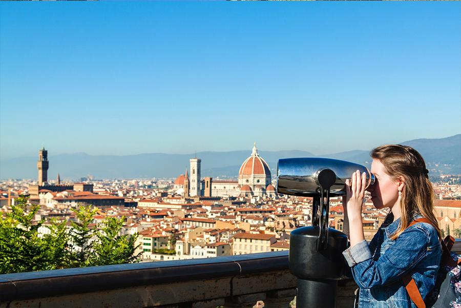 Mirador en Florencia