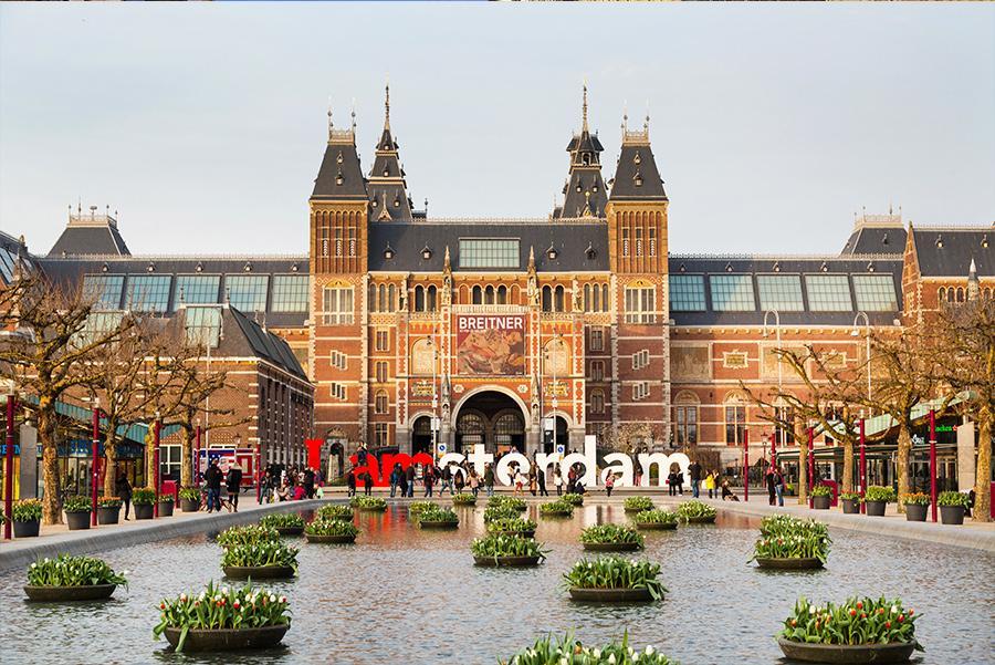 Rijksmuseum de Ámsterdam Foto: Nataliya Nazarova / Shutterstock.com
