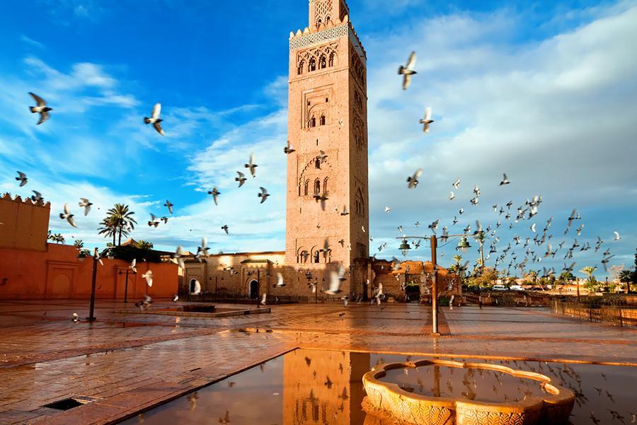Mezquita de Koutobia de Marrakech Foto: Migel/Shutterstock
