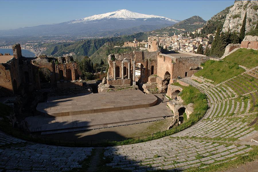 Teatro greco-romano de Taormina