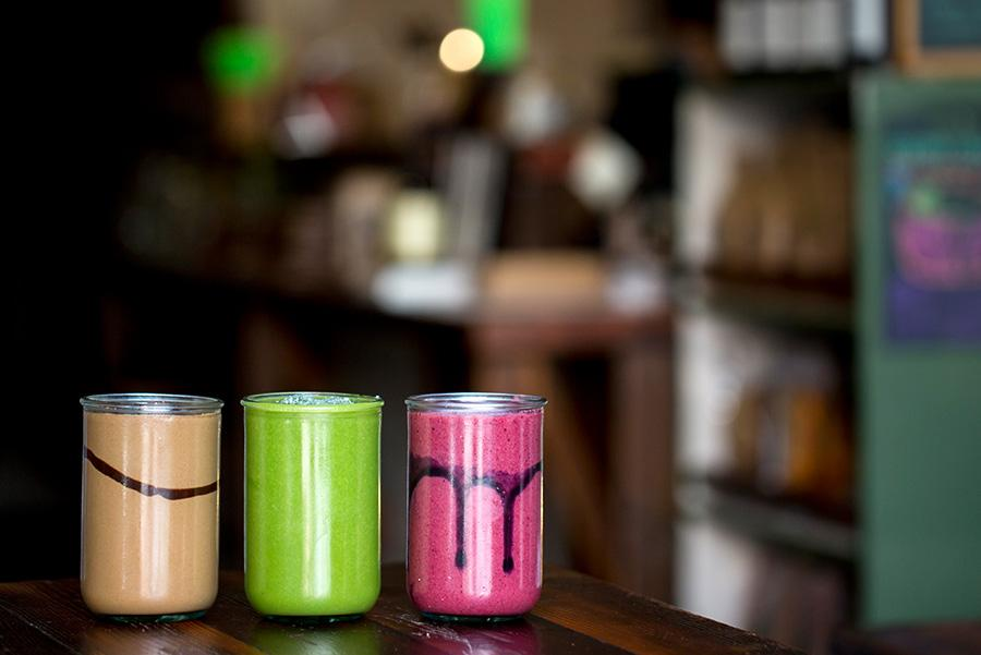 Los smoothies del restaurante australiano Earth to Table