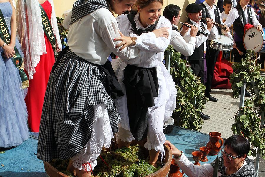 Fiesta de la vendimina en Rueda Foto: © Oficina de Turismo de Rueda
