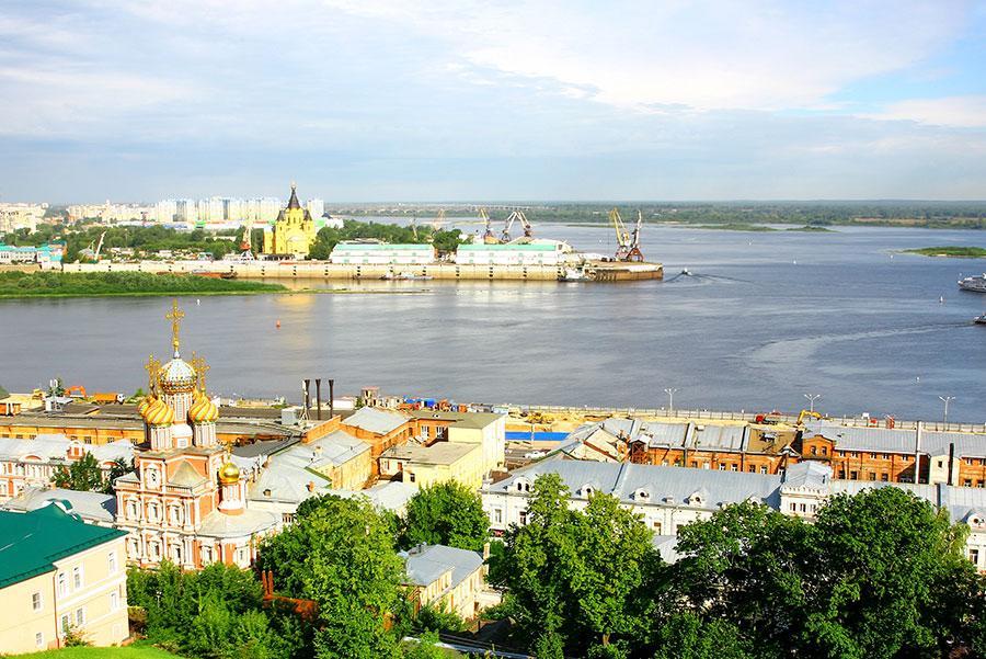 Río Volga.