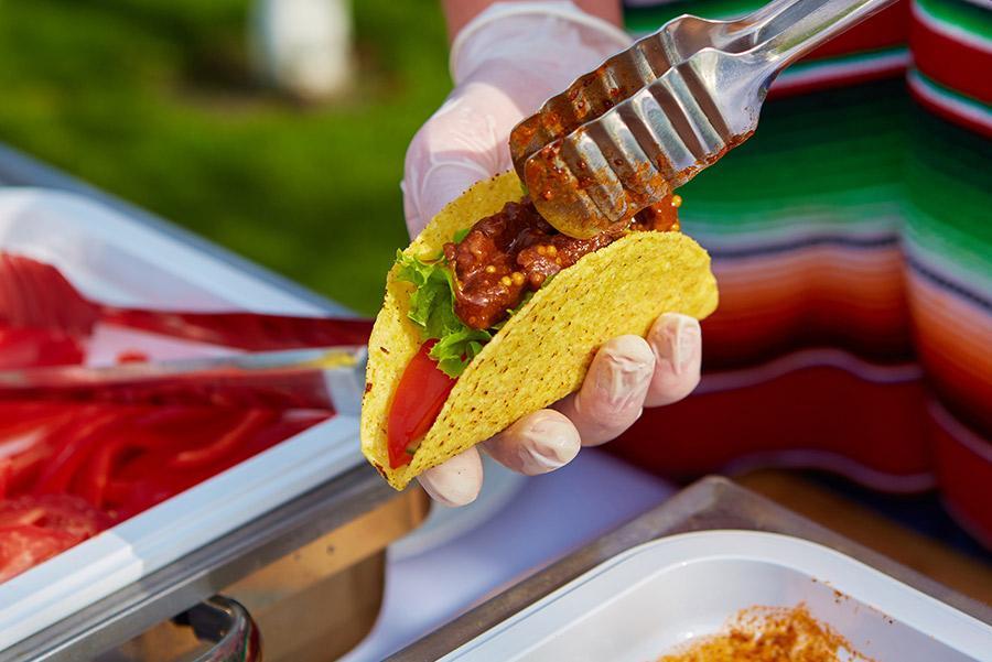 Tacos mexicanos.