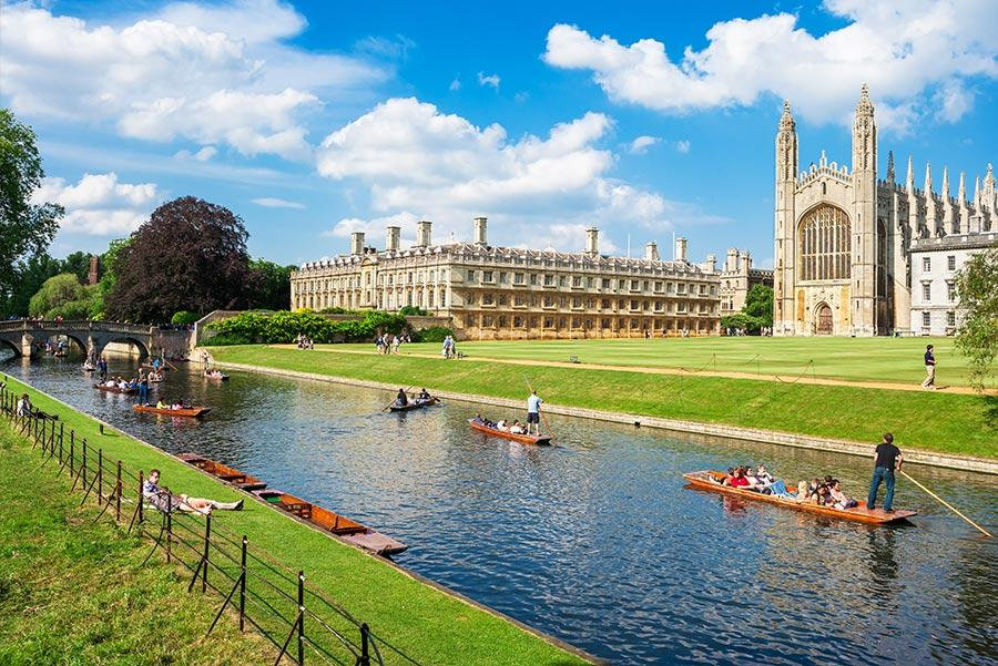 Universidad de Cambridge. Foto: Premier Photo / Shutterstock.com