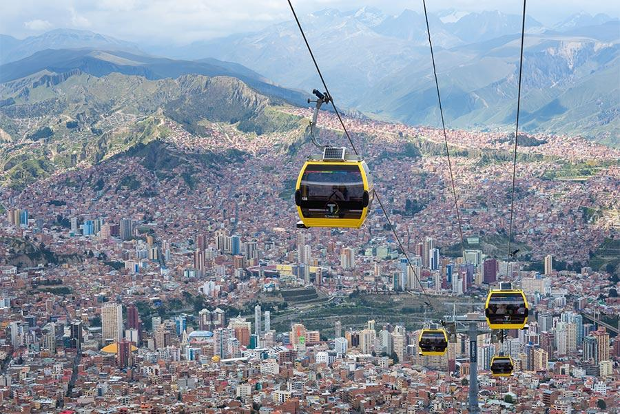 La Paz. Foto: LP Byelikova Oksana / Shutterstock.com