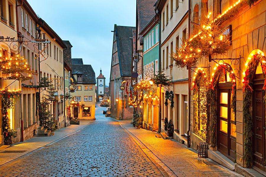 Rothenburg ob der Tauber, Francia.