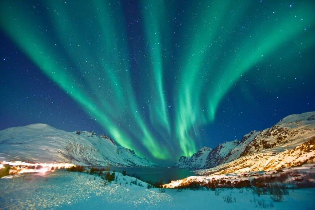 Puente de Diciembre, Aurora boreal en Laponia