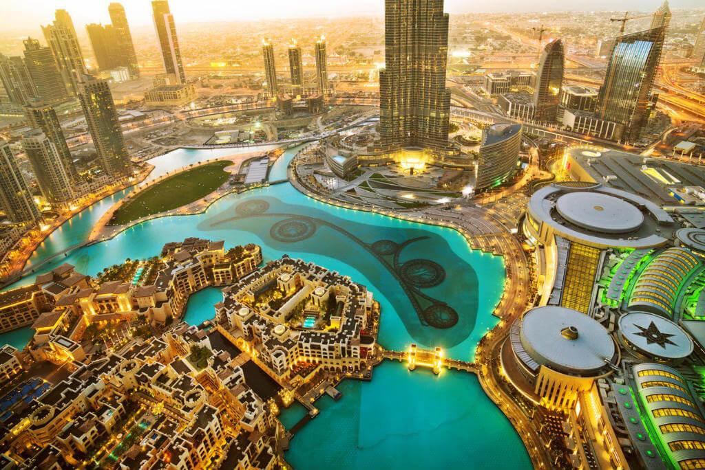 Puente de Diciembre, Panorámica Centro Dubai