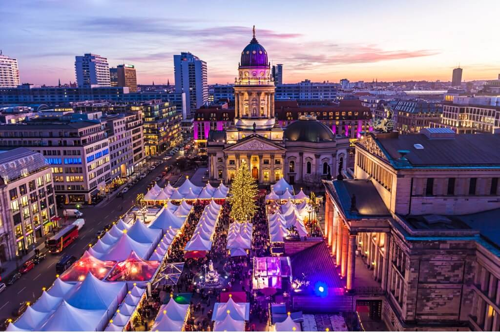 Puente de Diciembre, Mercado de Navidad de Berlín