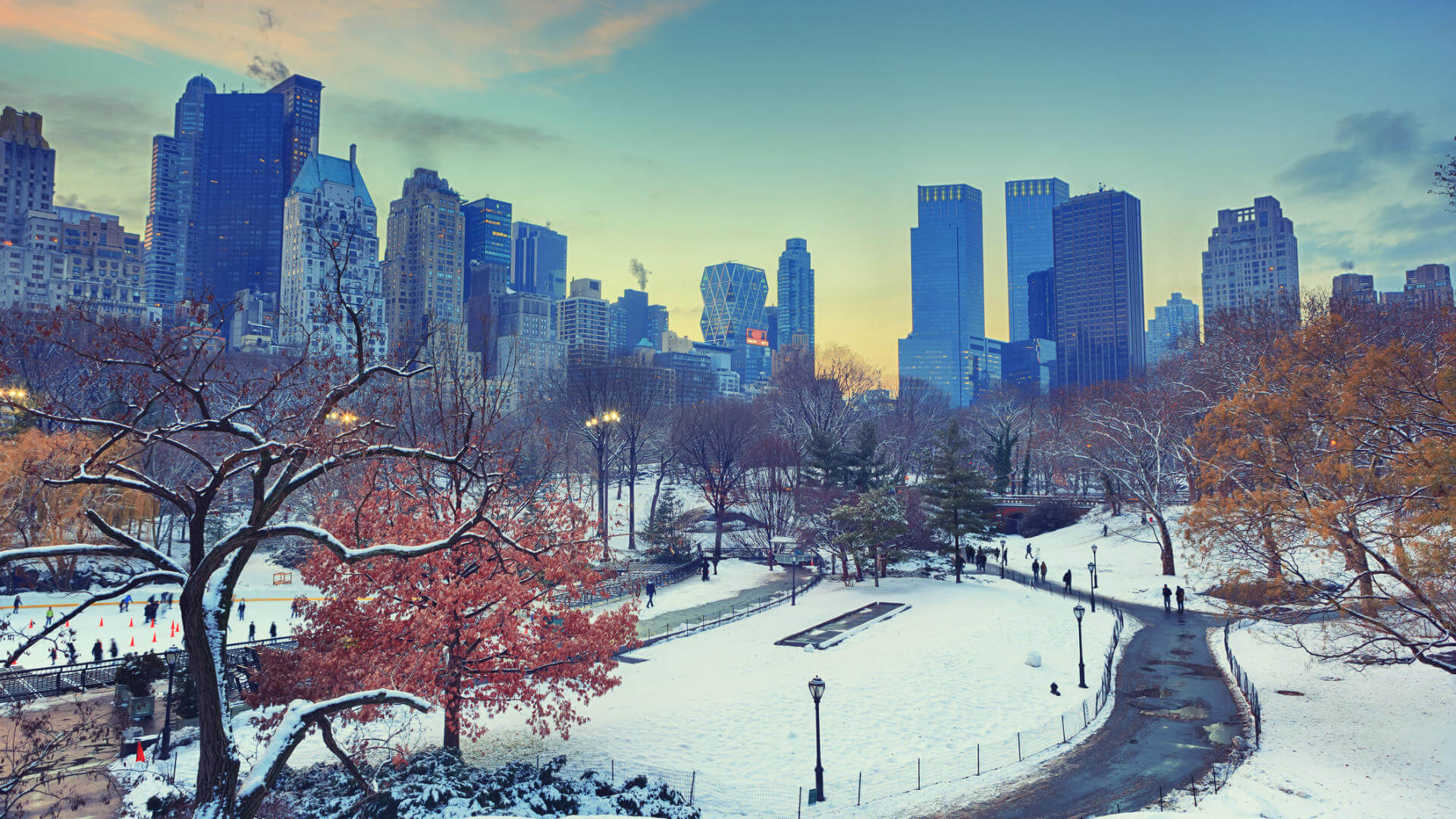 puente de diciembre nueva york invierno