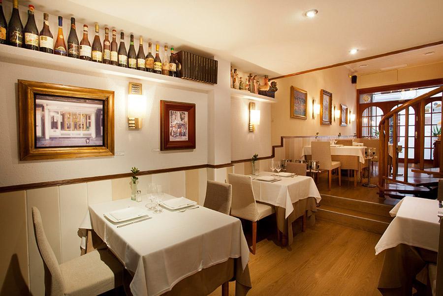Restaurante La Salseta, en Sitges.