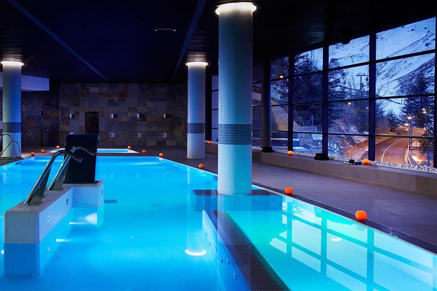 Yhi Spa del hotel Meliá Sol y Nieve