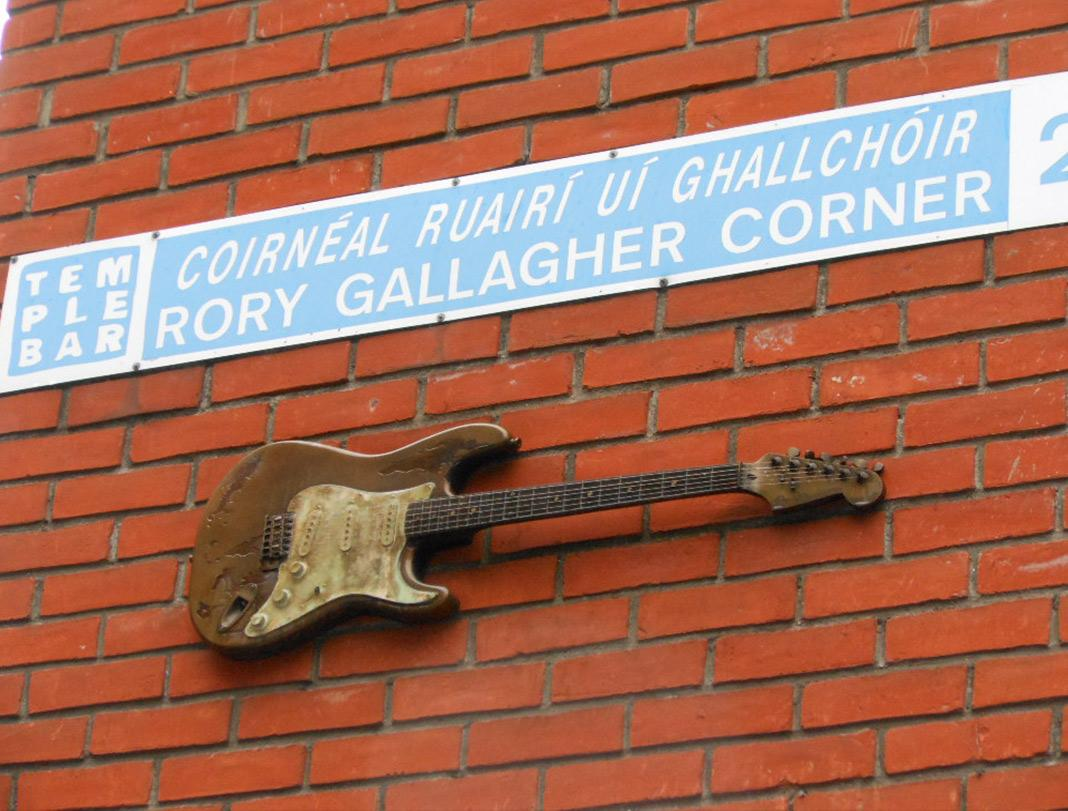 Esquina Rory Gallagher Dublín