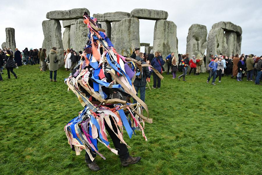 Festival del Solsticio de invierno en Stonehenge. 000 Words / Shutterstock.com