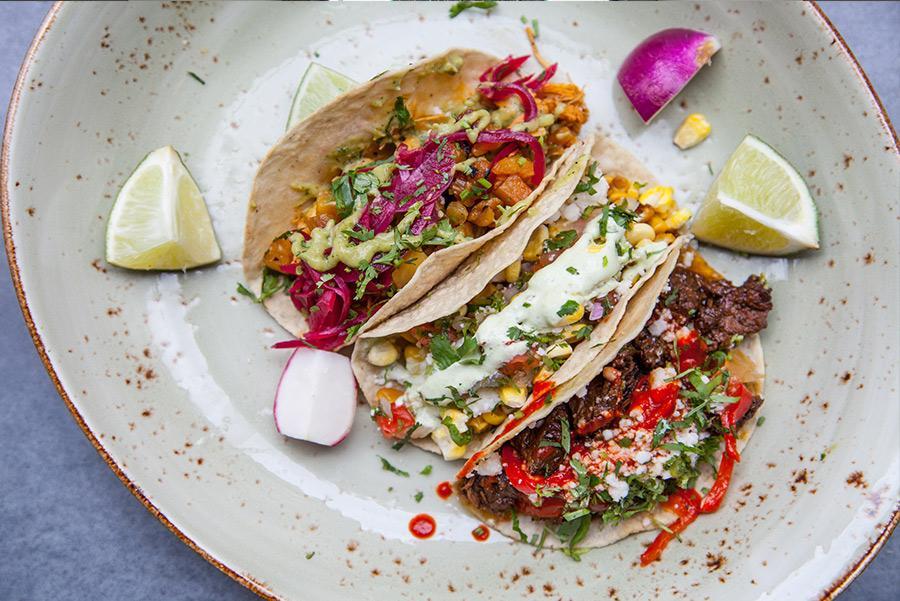 Tacos de Union Fare Gastrohall