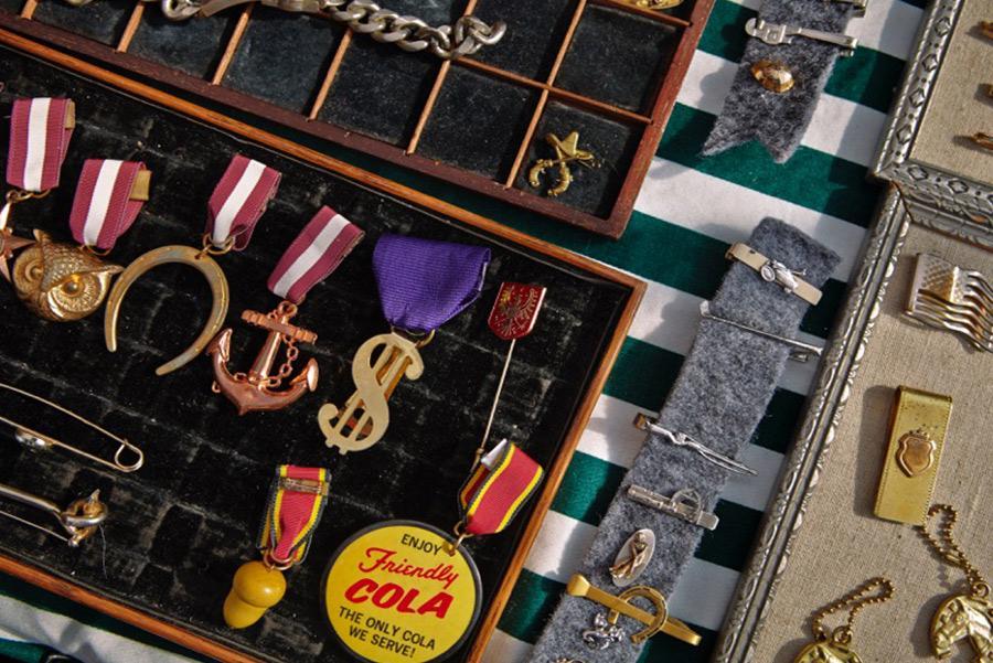 Objetos 'vintage' de Brooklyn Flea