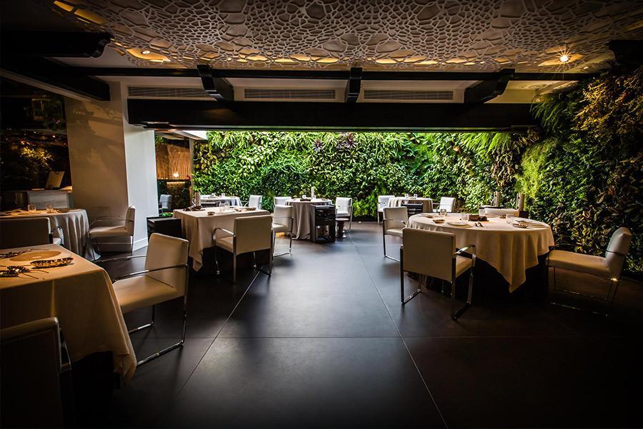 Restaurante Dani García en el Hotel Puente Romano de Marbella
