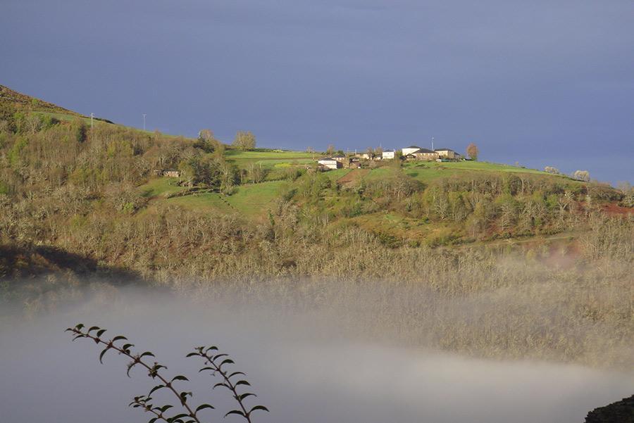 Vistas desde la casa rural O'Crego