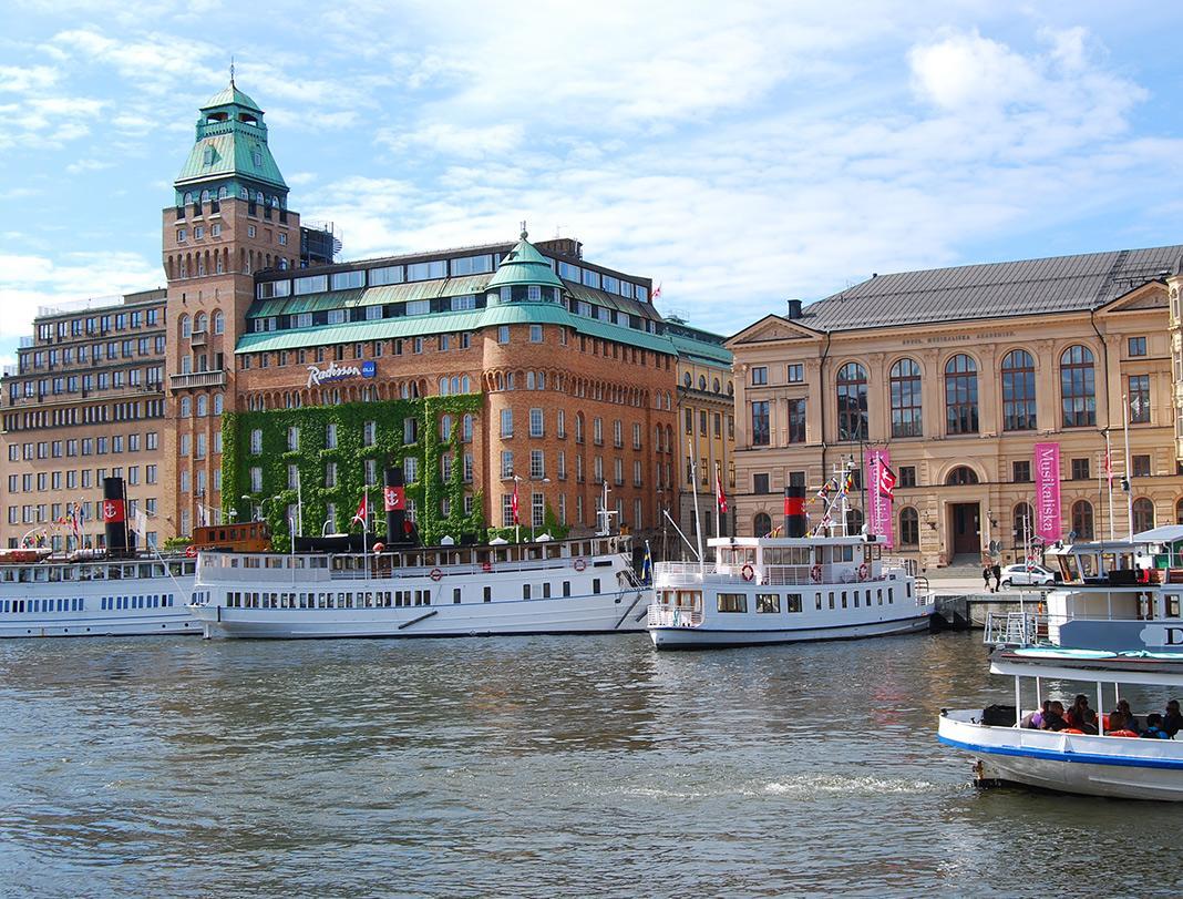 Suecia con ninos
