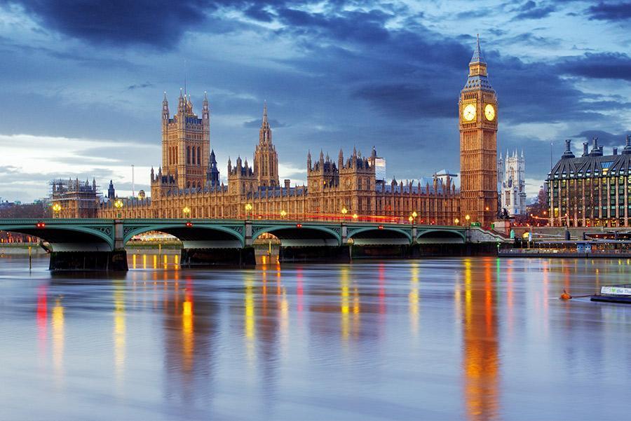 Panorámica de la ciudad de Londres
