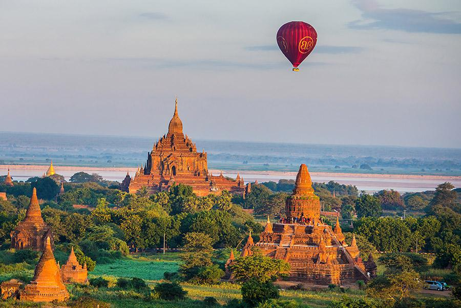 Templos de Bagan en Myanmar// Foto: Seqoya / Shutterstock.com