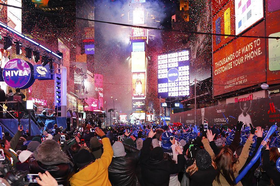 Times Square de Nueva York. Foto: a katz / Shutterstock.com